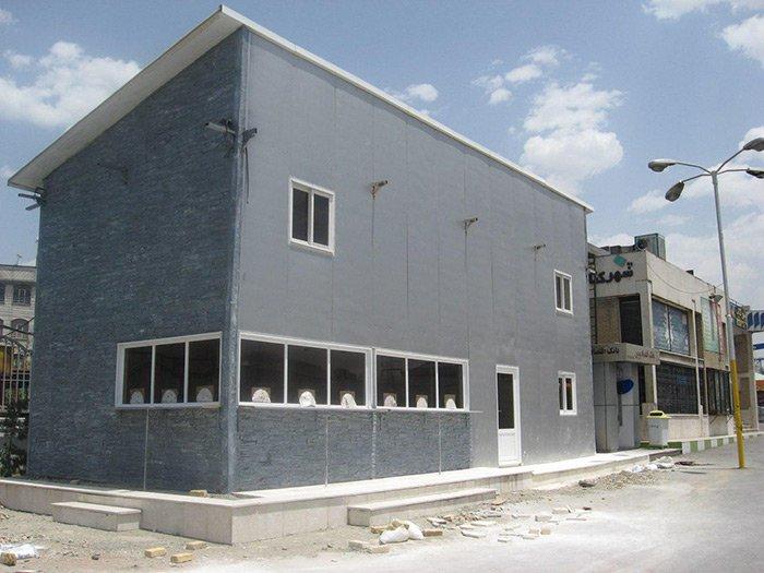 طراحی و نصب پوشش های دیواری و سقفی ساندویچ پانل